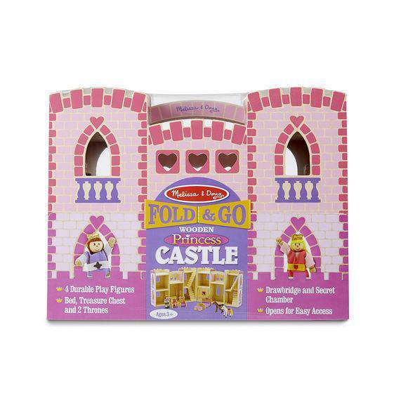 Melissa & Doug | Fold & Go Princess Castle
