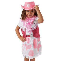 Melissa & Doug | Cowgirl Role Play Costume Set