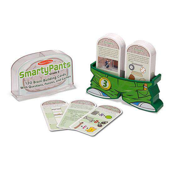 Melissa & Doug | Smarty Pants - 3rd Grade Card Set