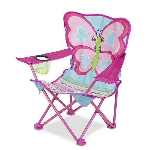 Melissa & Doug | Sunny Patch ~ Cutie Pie Butterfly Camp Chair