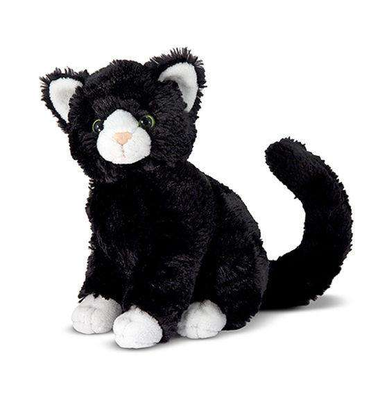 Melissa & Doug | Midnight Cat Stuffed Animal