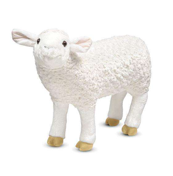 Melissa & Doug | Lifelike Plush Sheep