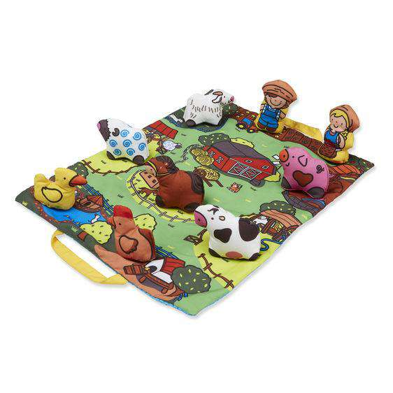 Melissa & Doug | Take Along Town Play Mat ~ Farm