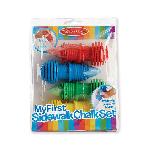 Melissa + Doug | My First Sidewalk Chalk Set
