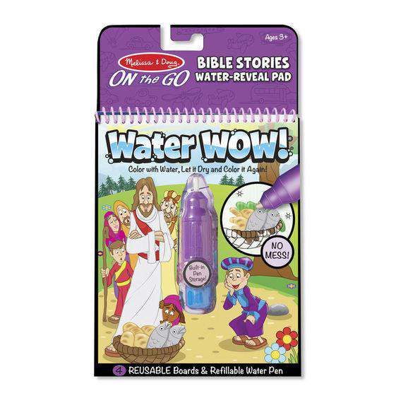 Melissa & Doug | On the GO Water WOW! | Bible Stories Water Reveal Pad