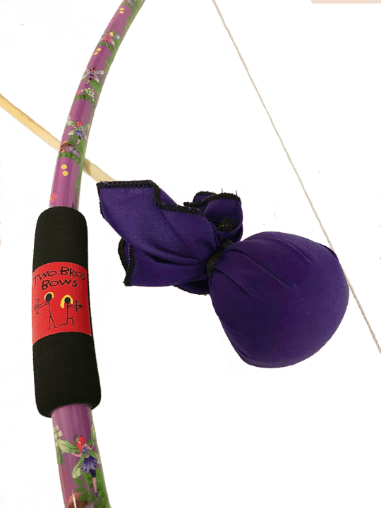 Two Bros Bows | Fairy Bow With Purple Arrow