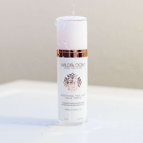 WildBloom Skincare - Soothing Tea Leaf Face Tonic