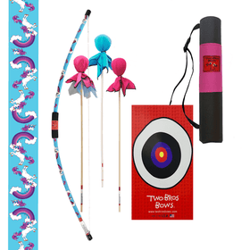 Two Bros Bows | Combination Deluxe Archery Set ~ Unicorn