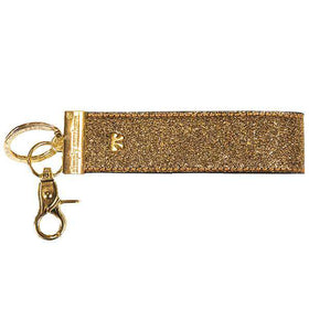 Simply Southern | Leather Keyfob ~ Gold
