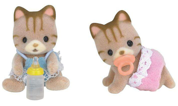 Calico Critters | Twins ~ Sandy Cat Twins