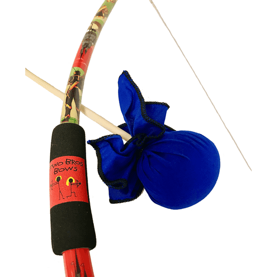 Two Bros Bows | KNIGHT BOW WITH COBALT ARROW