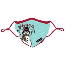 Simply Southern | Adjustable Strap Cotton Face Masks ~ Baby It's Cold Outside