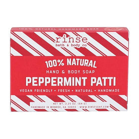 Rinse Bath Body Inc | Mini Peppermint Patti Soap Bar