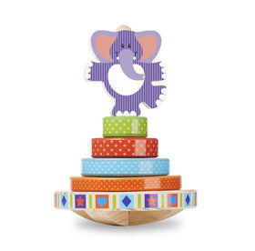 Melissa & Doug First Play Elephant Rocking Stacker *