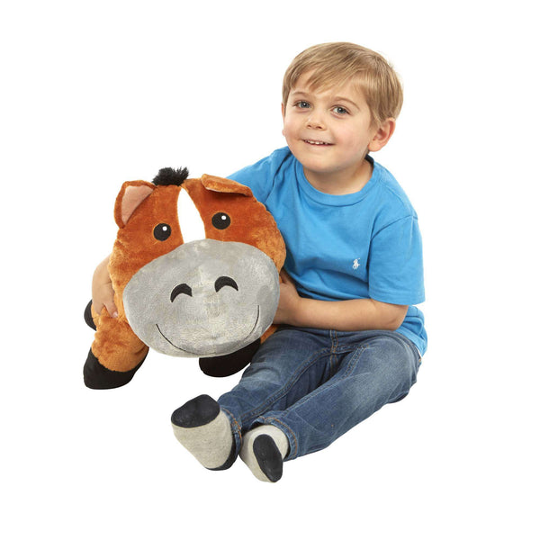 Melissa & Doug | Cuddle Horse Jumbo Plush Stuffed Animal