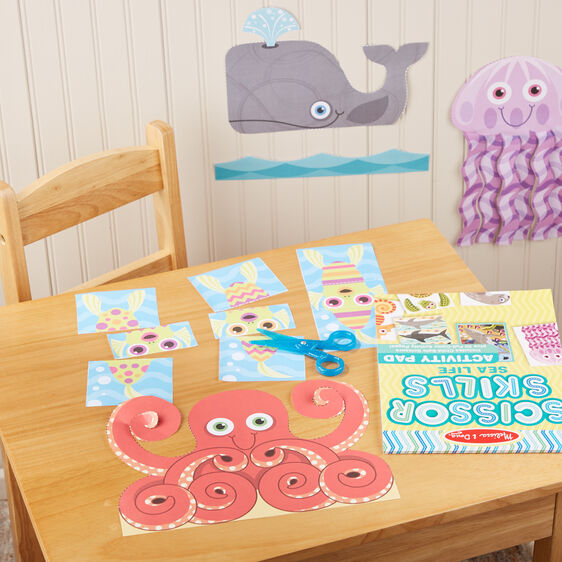 Melissa & Doug | Scissor Skills Activity Pad ~ Sea Life