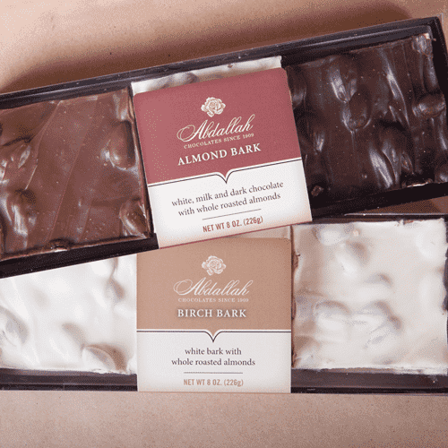 Abdallah Chocolate ~ Almond Bark