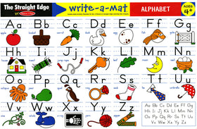 Melissa & Doug | Learning Mats ~ Alphabet