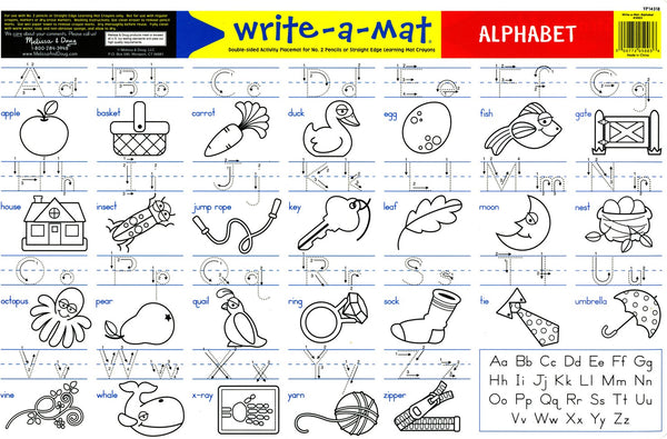 Melissa & Doug | Learning Mats ~ Alphabet (6035605633)