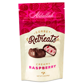 Abdallah Chocolate | Sorbet Retreats ~ Creamy Dark Chocolate Raspberry
