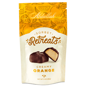 Abdallah Chocolate | Sorbet Retreats ~ Orange Sorbet Dark Chocolate