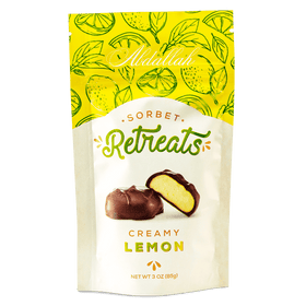 Abdallah Chocolate | Sorbet Retreats ~ Lemon Sorbet Dark Chocolate