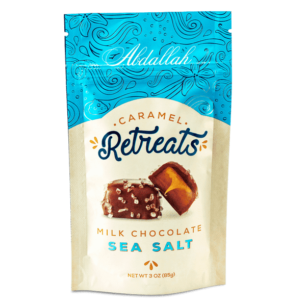 Abdallah Chocolate | Retreats ~ Sea Salt Milk Chocolate