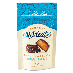 Abdallah Chocolate | Retreats ~ Sea Salt Dark Chocolate