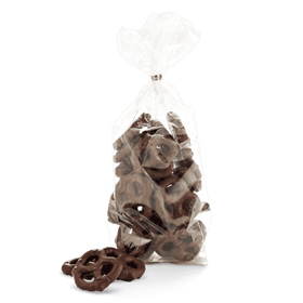 Abdallah Chocolate | Candy Jar Favorites ~ Dark Chocolate Pretzels