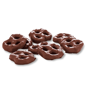Abdallah Chocolate | Candy Jar Favorites ~ Milk Chocolate Pretzels