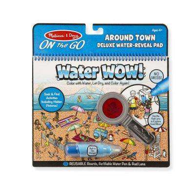 Melissa & Doug | Deluxe On the GO Water WOW! | Around Town