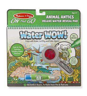 Melissa & Doug | Deluxe On the GO Water WOW! | Animal Antics
