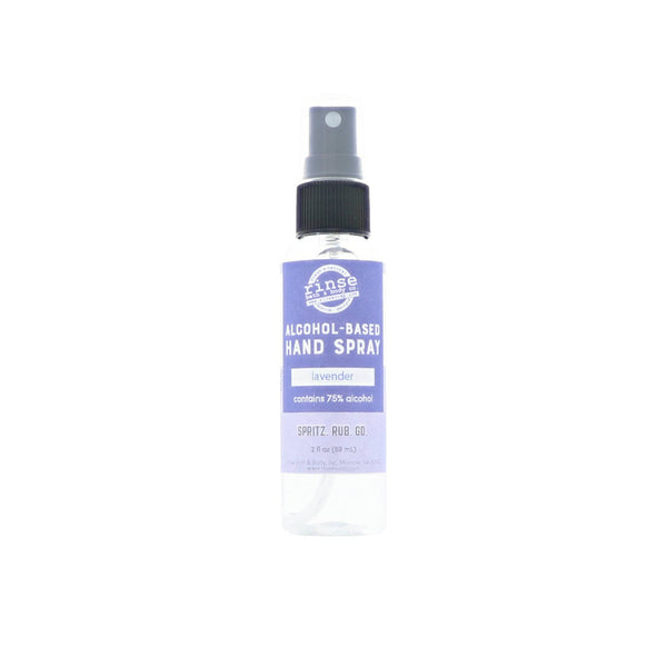 Rinse Bath Body Inc - Alcohol-Based Hand Spray - Lavender