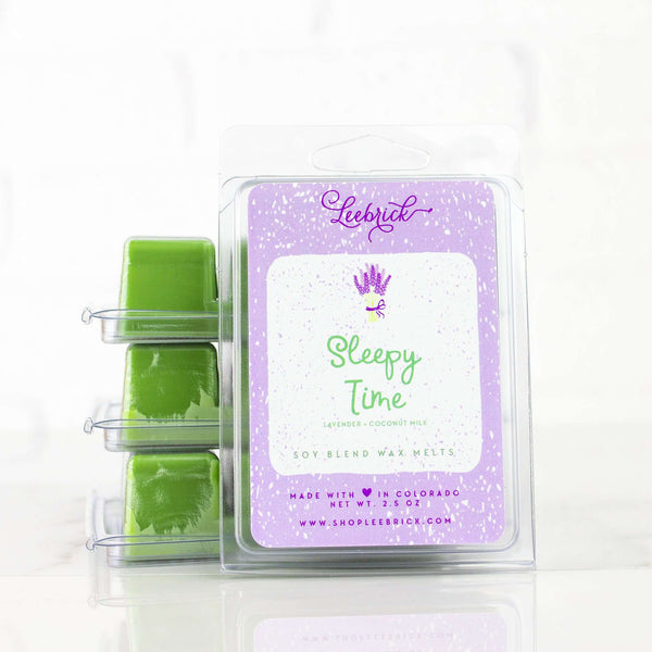 Leebrick - Sleepy Time (Lavender + Coconut Milk) Scented wax melts