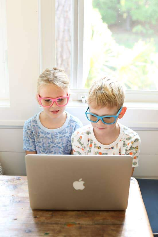 Babiators | Screen Savers Blue Light Glasses : Think Pink Navigator
