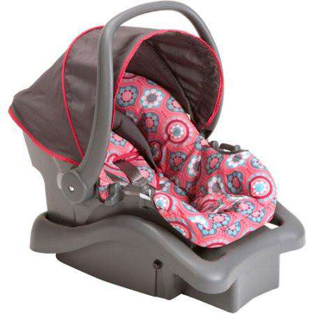 Cosco Light 'N Comfy DX | Infant Car Seat Posey Pop