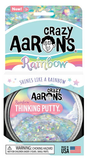 Crazy Aaron's Thinking Putty | Rainbow 4