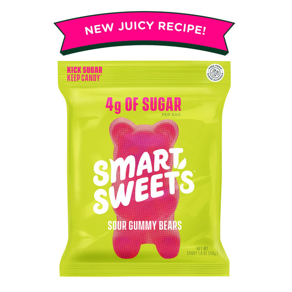 Smart Sweets | Sour Gummy Bears