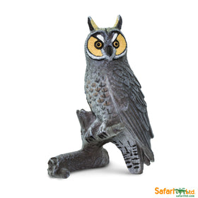Safari LTD | Wings of the World Birds ~ LONG EARED OWL