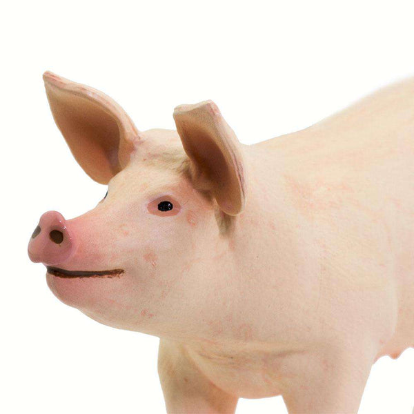 Safari LTD | Safari Farm ~ LARGE WHITE PIG