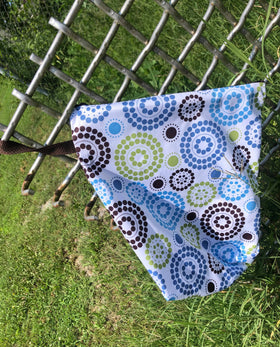 Blueberry Zippered WetBag ~ Round About