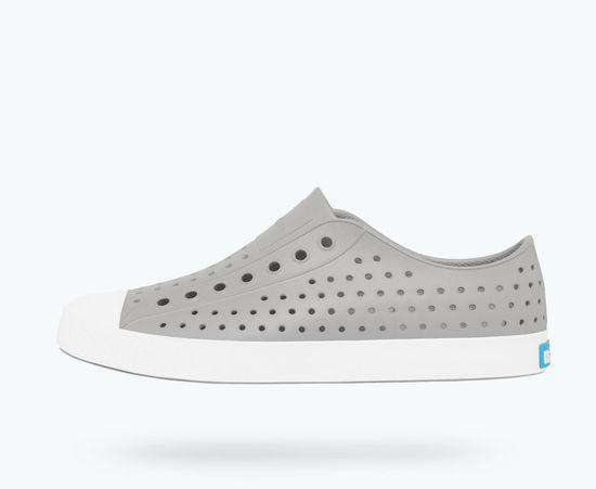 Native Shoes | Jefferson Adult Pigeon Grey / Shell White