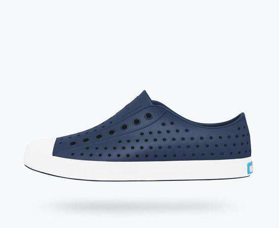 Native Shoes | Jefferson Adult  Regatta Blue / Shell White