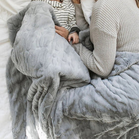 Saranoni Luxury Blanket | Gray