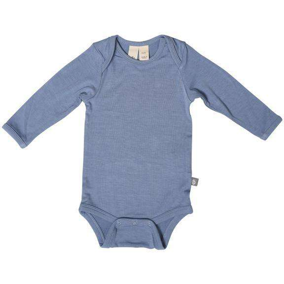 Kyte Baby - Long Sleeve Onesie in Slate