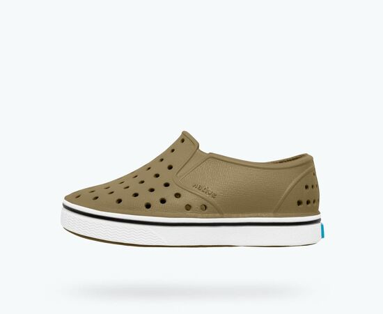 Native Shoes | Miles Child Utili Green/ Shell White