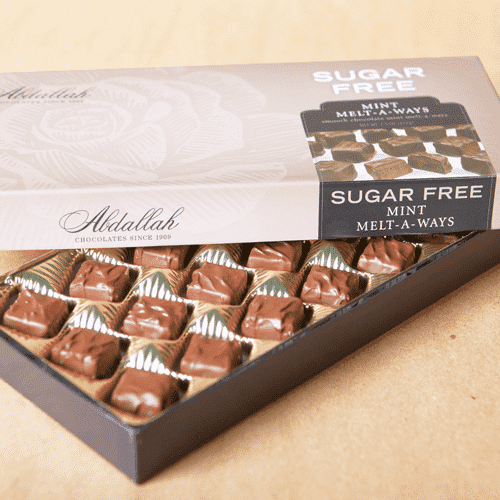 Abdallah Chocolate | Sugar Free~ Mint Melt A Way