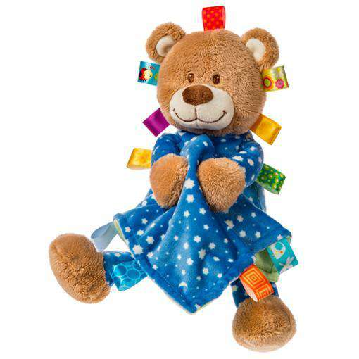 Taggies | Starry Night Teddy & Blanket – 12″