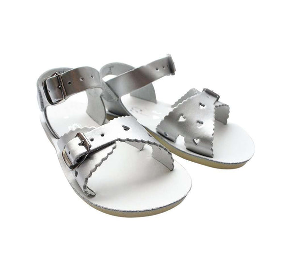 Sun-San Sweetheart Sandals | Silver (children's) (7072395457)