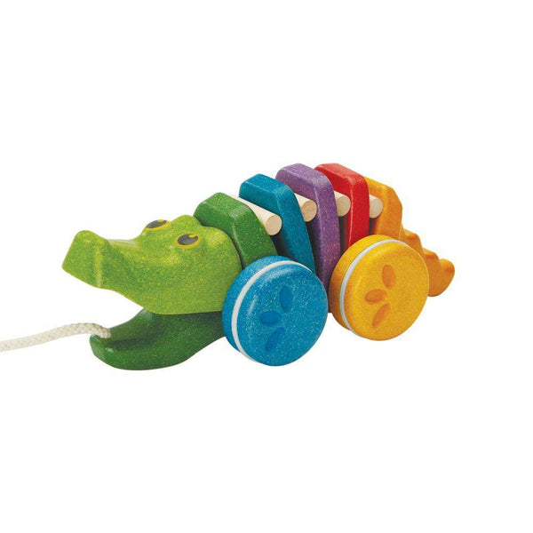 PlanToys | Rainbow Dancing Alligator